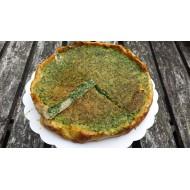 Tarte au thon /féta/herbes